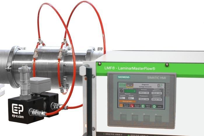 Durchflussmessung & -kalibrierung: LMF®- LaminarMasterFlow® - null