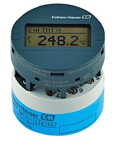 iTEMP TMT71 Temperature transmitter - Transformation of sensor signals into stable and standardized output signals