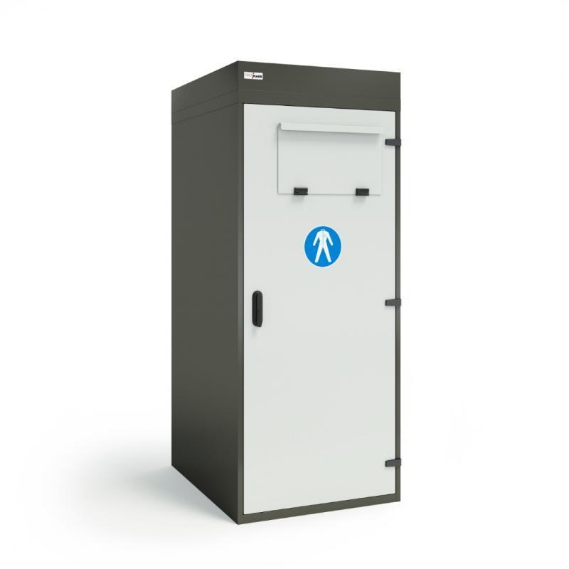Szafy TECHCODE na odzież brudną - szafy z wrzutnią - Zdalnie sterowane szafki RFID z kontrolą dostępu