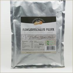 Indische Flohsamenschalen Pulver 95% Reinheit fein gemahlen - Flohsamen