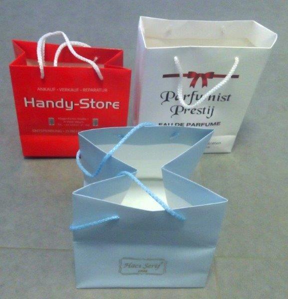 sacs en papier,sacs en carton - Sacs de carton de luxe offset imprimé
