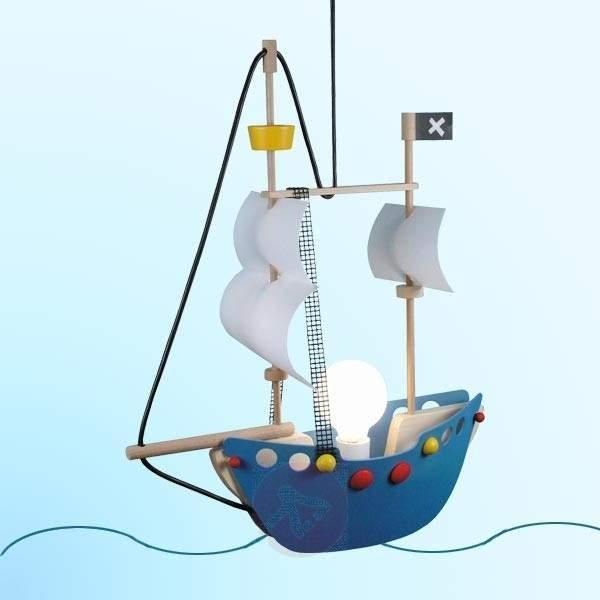 Adventurous Pirate Ship Pendant Light - Pendant Lighting