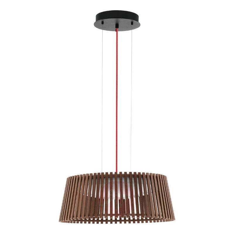 47 CM - Roverato LED Pendant Lamp Nut White - Pendant Lighting