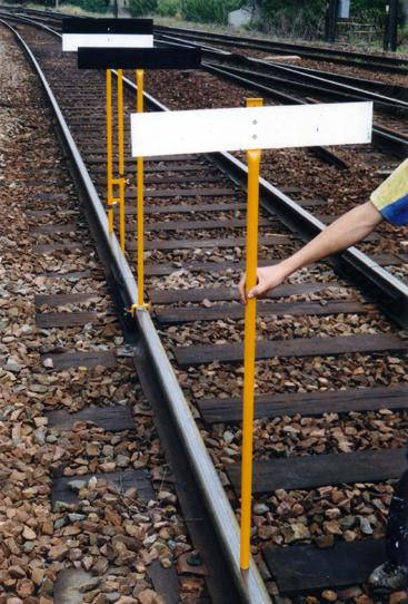 Track Lining and Leveling Equipment - Set of Grade Stakes