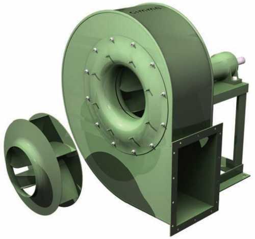 Gfg - Ventilateur Moyenne Pression Type Gfg - Transmission Poulie Courroie - null