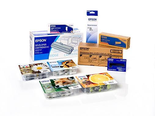 Original Epson Verbrauchsmaterialien und Ersatzteile