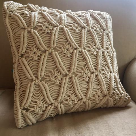 macrame cowboy large cushion cover