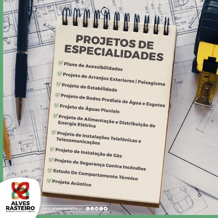 Projetos de Especialidades -