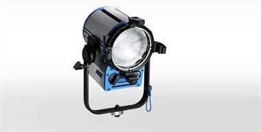 Halogen spotlights - ARRI True Blue T2 manual, blue/silver, with Schuko