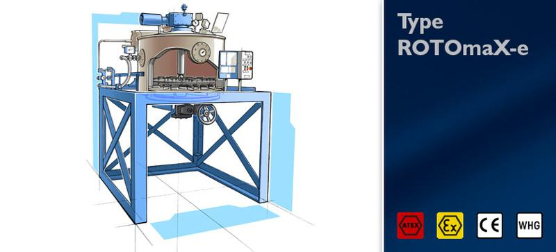 Distillation unit Type ROTOmaX-e - null