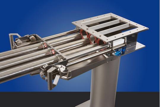 Séparateur magnétique autonettoyant pour poudre et granulat -
