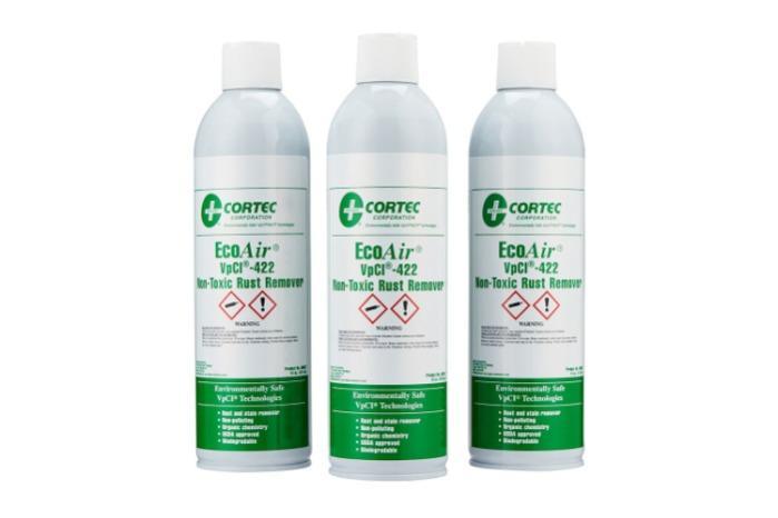 Cortec VPCI 422 EcoAir - Spray removedor de óxido | OXIDACIÓN DE METALES
