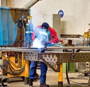 carpenteria metallica  - costruzioni di componenti in acciaio