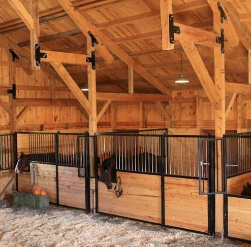 Hdpe Board Hot Dip Galvanized Or Powder Coated Horse Stable -  Horse Stall/Stable