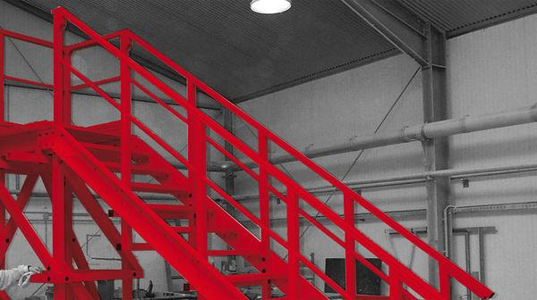 Mobile Stair - mobile stairs with high corrosion resistance and electrically isolationg