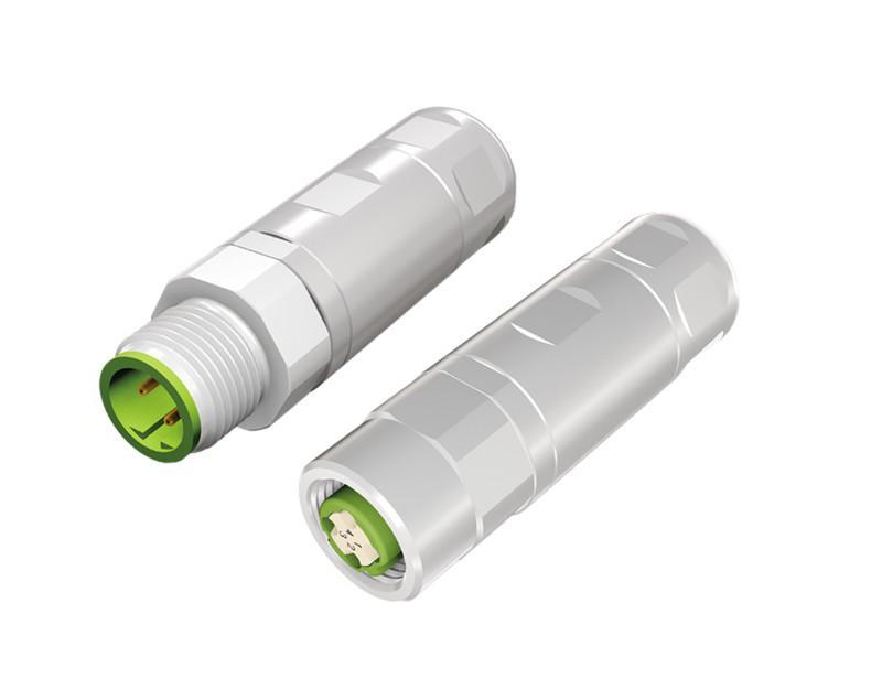 Industrial Ethernet Steckverbinder M12x1, Crimpanschluss - Industrial Ethernet Steckverbinder M12x1, konfektionierbar, Crimpanschluss