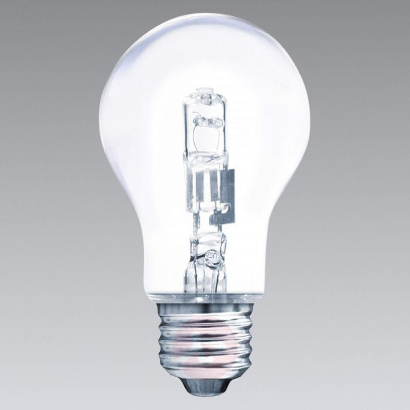 E27 77 W halogen lamp, warm white, clear - light-bulbs