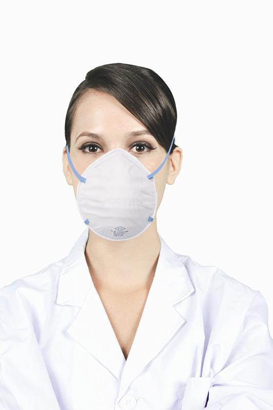 Disposable respirator N95 mask with/without valve