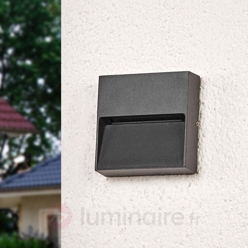 Applique carrée Marlis avec LED - Appliques d'extérieur LED
