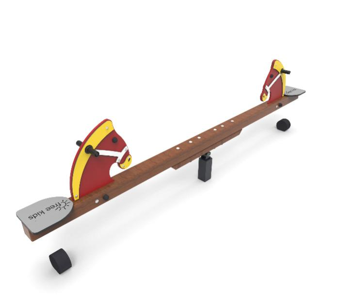 Horse seesaw - Seesaws