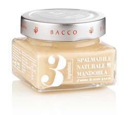 Crema Naturale 3 Ingredienti Mandorla - mandorla 50%, zucchero, olio extravergine d'oliva.