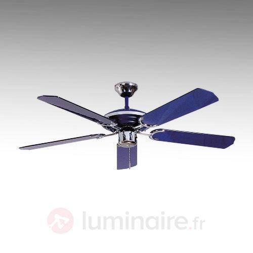 Ventilateur de plafond bleu LARGO BLEU - Ventilateurs de plafond modernes