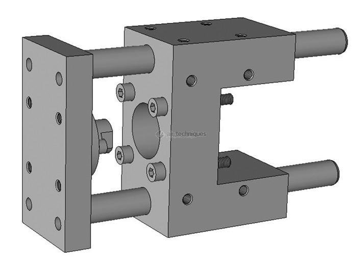 """Unité de guidage en """"U"""" - Unités de guidage - diamètre 50mm, ISO 15552 - Série classique 346C"""