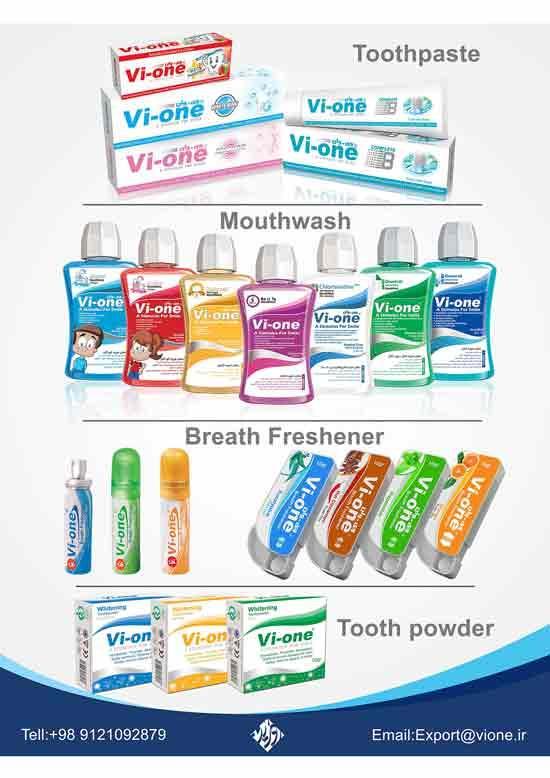 vi-one mouthwash,whitening powder,toothpaste