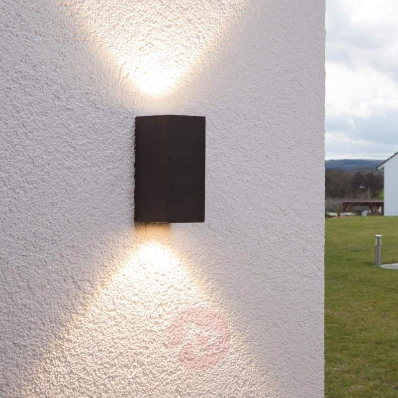 Tavi outdoor wall light with 2 Bridgelux LEDs - outdoor-led-lights