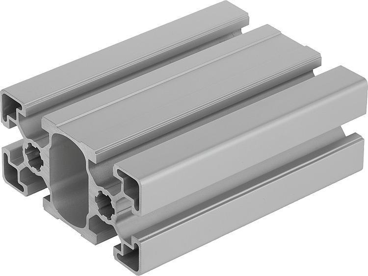 Profilés aluminium 45x90 légers Type B - Profilés aluminium
