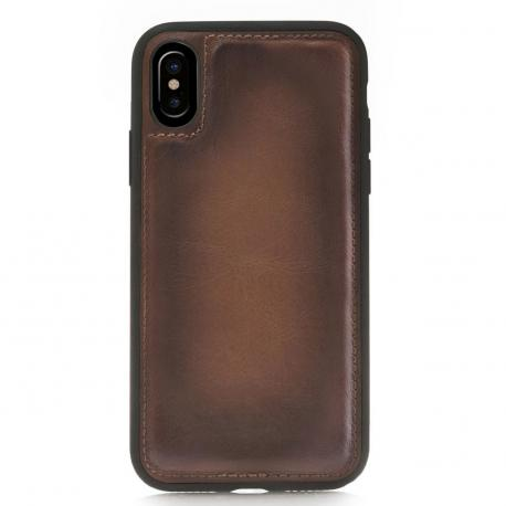 New Design Leather mobile phone back cover case for iphone 8