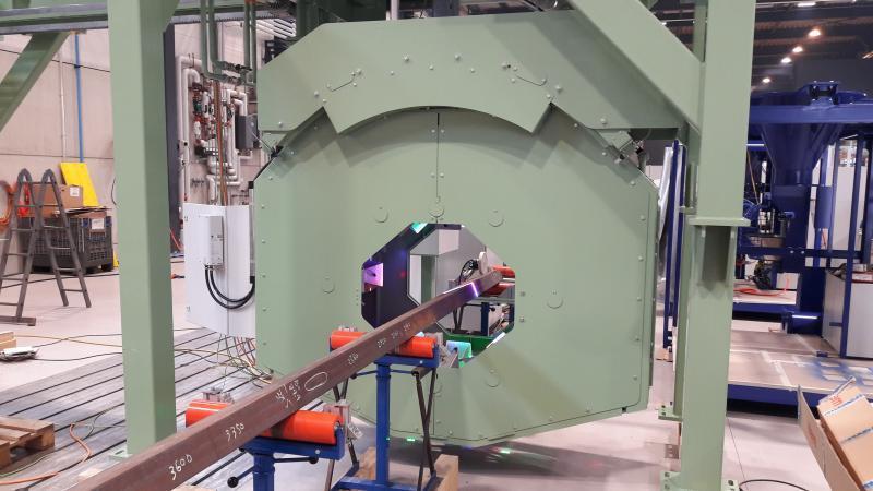 Système de mesure de surface et de profil OSIRIS - Mesure en ligne de surface et de précision dimensionnelle de produits longs