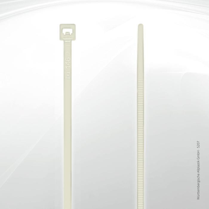 Allplastik-Kabelbinder® cable ties, standard - 5207 (natural)