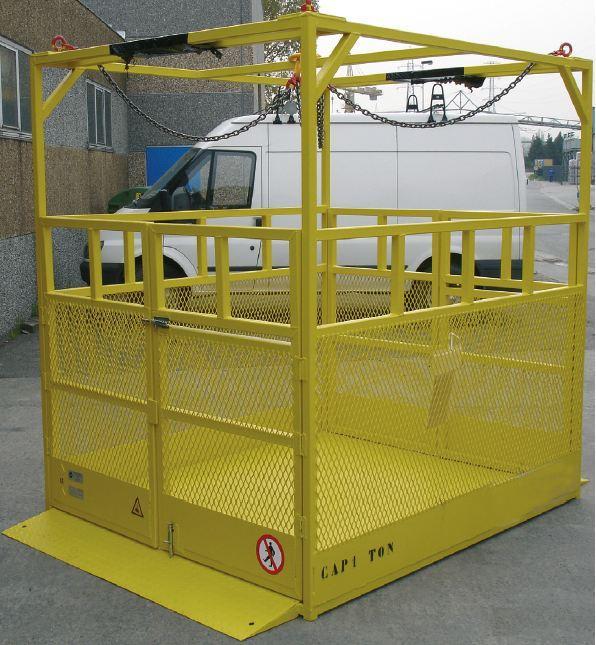 Nacelles de levage - Nacelle pour transport de matériel type NAMAT