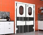 Traffic swinging single or double leaf door - Refrigeration Doors