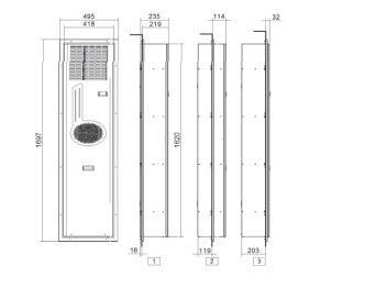 Fly32 Condizionatori Per Montaggio A Porta O Parete - LINEA CLIMATIZZAZIONE