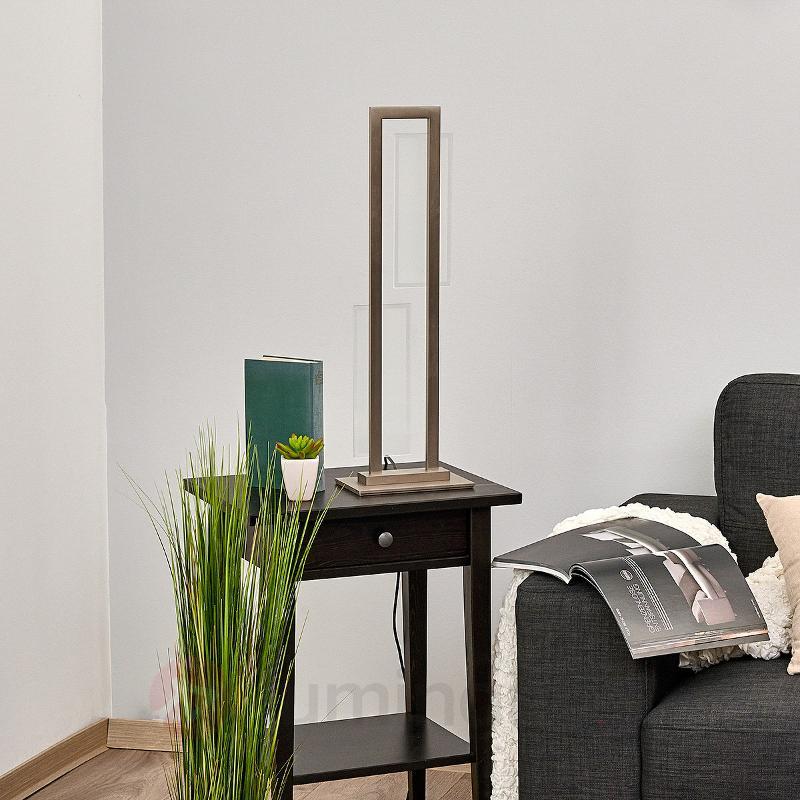 Lampe à poser LED Nele avec dimmer intégré - Lampes à poser LED