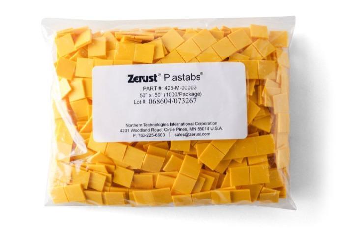 Zerust Plastabs | Zerust Plastabs 0.5 ″ et 0.75 ″ - Émetteurs VCI pour les espaces difficiles à atteindre et difficiles d'accès