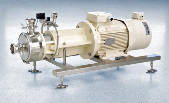 Homogeneizador Inline Dispersor YSTRAL Z-Inline - Tecnologia Conti-TDS adaptada aos requisitos da indústria alimentar