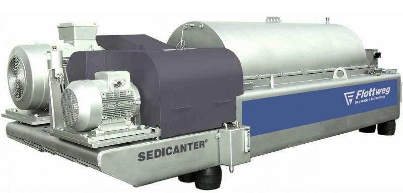 Le Sedicanter® Flottweg - Le décanteur centrifuge pour sédiments mous