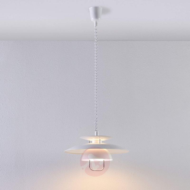 White kitchen hanging light Nadija - indoor-lighting
