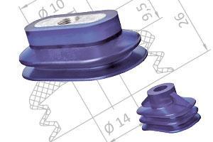 Vakuumsauger - Ovalsauger nach Größe - null