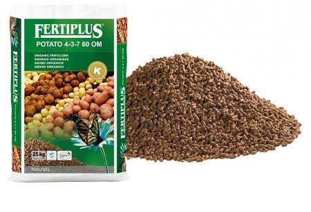 Fertiplus® Potato 4-3-7 60 OM with K - Special fertilizers