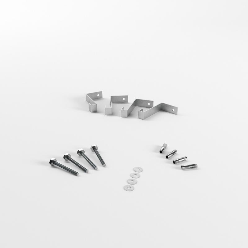 Abschottungssysteme Systemkomponenten - 20er Befestigungs-Set (Rohre bis Ø 160)