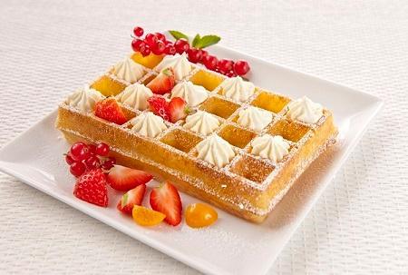 Brussels Waffles - 80g -4x6 Alveolus
