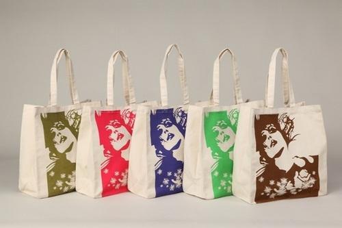 Printed Canvas Cotton Bag - Printed Canvas Cotton Bag, Canvas Tote Bag, Canvas Shopping Bags