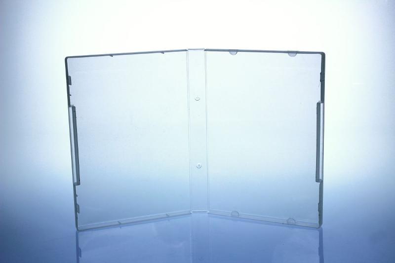 Multimediastoragebox - 21 mm - transparent - Multistoragebox