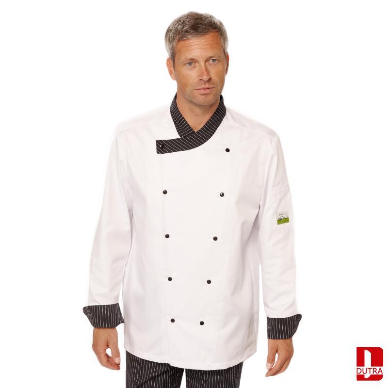 Veste de cuisine blanche  - Loupiac