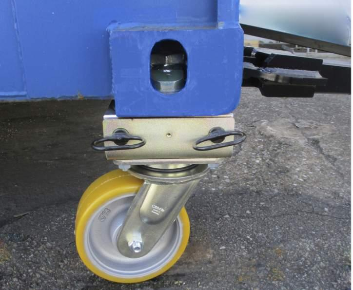 Container rollers - 4336 4t - Container rollers for moving containers up to 4 t