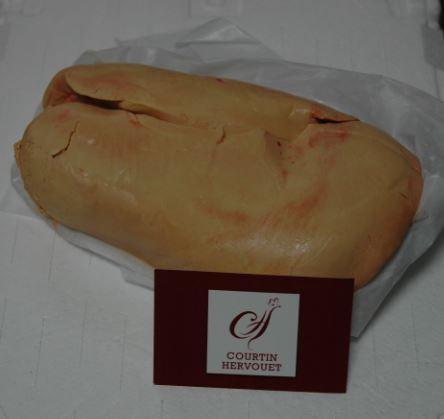 Foie gras sous papier